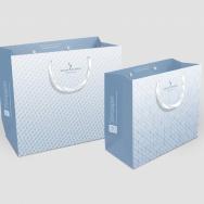 umweltfreundliche Steinpapier-Tragtaschen